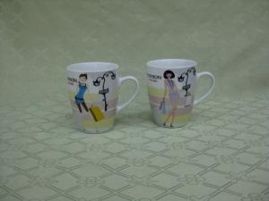 China Fine Porcelain Coffee Mug,SA8000/SMETA Sedex/BRC/ISO/SGP/TCCC/BSCI Audit Factory on sale