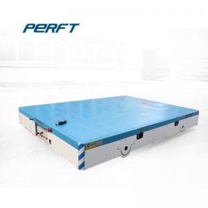 China Self - Propelled Battery Transfer Cart Platform Electric Bogie For Industrial Filed on sale