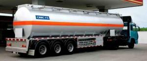 China Fuel Tank Truck and Semi Trailer on sale