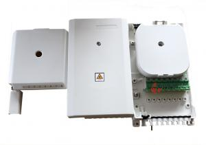 China IP54 FTTH 8 Port Uncut Cable Fiber Optic Termination Box for 1:8 plc splitter completed on sale