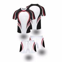 Team set wholesale custom rugby jersey sets