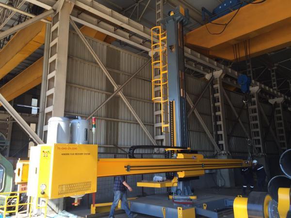 5x5 Column Boom Welding Machine Weld Manipulator For Cylinder for