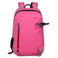 Pink Outdoor Dry Bag Backpack Portable Customized Logo 30.5cm*48cm*15cm