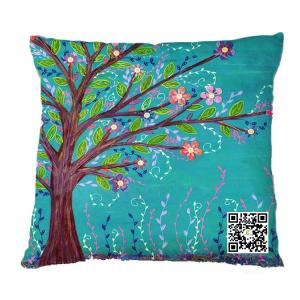 China Customized Sublimation Printed Pillow Cases, Cushion Covers on sale