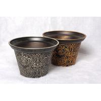 Antique imitation Golden flower pot