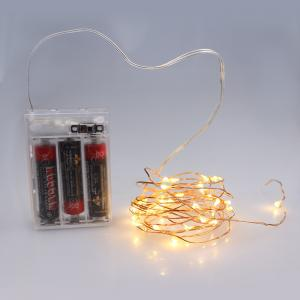 China 3*AA Battery Powered ON/OFF Multi-Color LED String Lights For Christmas, Party, Festival Decoraction on sale