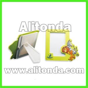 China Custom high quality cheap pvc cartoon mini photo frame for home room on sale