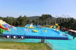 China Popular Inflatable Water Activities , Amusement Water Parks With CE Certificate on sale