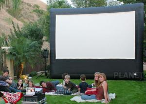 China Portable Inflatable Movie Screen , Customized Size Inflatable Cinema Screen on sale