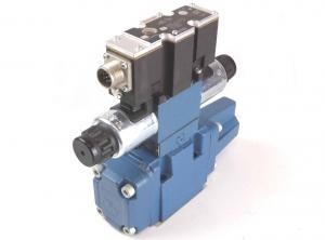 China New Rexroth Solenoid Valve , Hydraulic Directional Control Valve 4WRZE10 on sale