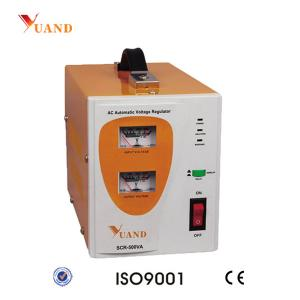 China SCR-500VA Competitive Pice Relay Type Voltage Regulator on sale