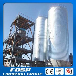 China galvanized corrugated grain storage steel silos on sale