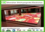 China 3D Outdoor RGB LED Dance Floor Lighting , LED Starlit Starlight Dance Floor wholesale