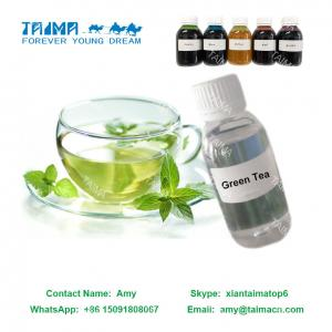 China Fruit Concentrated Liquid Flavor/ Green Tea Flavor used for nicotine E Liquid supplier