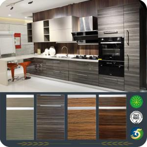 China Solidwood Contemporary Kitchen Cabinet LW-CK002 on sale