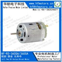 China 3V 6V 6600RPM 60mA Dc Permanent Magnet Motors RS-360SA on sale