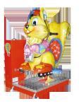 máquina de juego del coche de parachoques