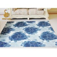 Vividly Flower Pattern Living Room Floor Rugs 3D Design Customized Shape