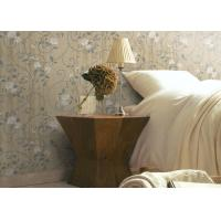 China 1.06m Korean Fashion Wallpaper Country Style For Living Room Decor , Color Customized on sale