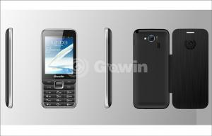 China Rosy Dual Sim GPRS Mobile Phone 800mAh , Support Bluetooth and USB on sale