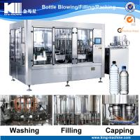 Hot sale automatic 3 in 1 water filling machine