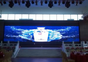 China Lightweight Mobile Indoor Rental LED Display Windows 7 8 10 Operate System on sale