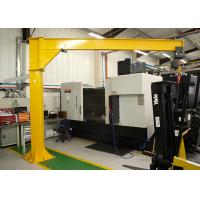 China Stationary Crane Lifting Equipment , 360 Degree Rotation 1T Jib Arm Crane on sale