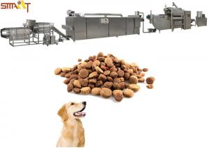 China Automatically Pet Food Processing Equipment , Pet Food Extruder Low Noise on sale