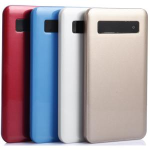 China Touch power key,Display power aa battery power bank in 5000mAh on sale