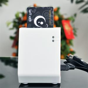 China Contact smart card reader writer with built-in sam slot on sale