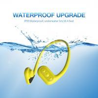 Conduction Waterproof Headset mp3/FM Bone Conduction Waterproof mp3 Player for Swimming