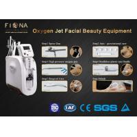 Multifunction Water Oxygen Jet Peel Machine , Hyperbaric Oxygen Machine 300V