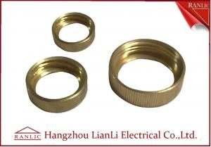 China Female Bush Brass Electrical Wiring Accessories For Gi Conduit & GI Socket Thread on sale