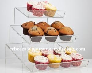 China Clear Acrylic Cupcake Display Rack Made In China on sale