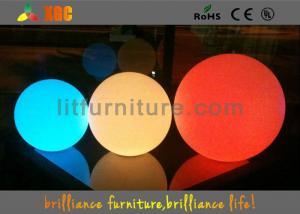China Batería recargable del polímero de litio de las bolas de la prenda impermeable LED del RGB supplier