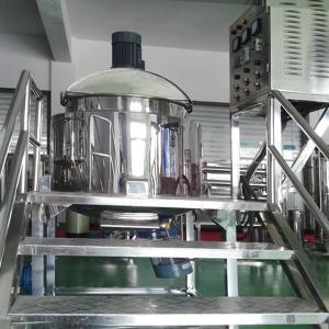 China 200L Stainless Steel Blending Tanks Shampoo Making Machine, Liquid Mixer Machine on sale