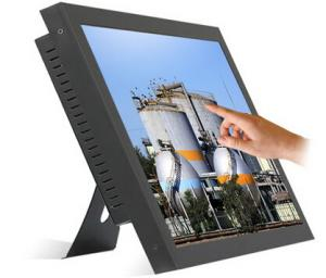 China Touch Screen PC 15 Inch ,  Touch Kiosk All In One PC 500GB HDD on sale