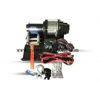 12V 4000 LB Electric ATV Winch 4x4 Off Road Synthetic Electric Winch Rope With Accessories