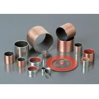 Multilayer Composite Self Lubricating Bearings Low Carbon Steel + Porous Bronze + PTFE