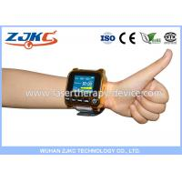 AC 90--265V Rechargeable Laser Wrist Watch With Metal / ABS Materials , 5mW Diode Power
