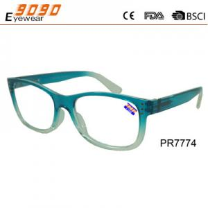 China New arrival and hot sale plastic reading glasses,suitable for women and men on sale