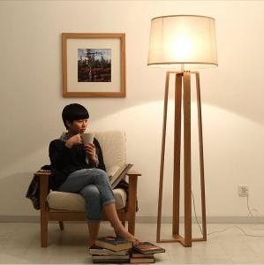 Gentil ... Quality Wood Floor Standing Lamp For Living Room/ Reading Floor Lamp/  Floor Lamp For
