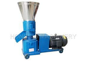 China 2mm - 6mm Size Poultry Feed Pellet Mill , Feed Pellet Making Machine Lightweight on sale