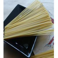 Kosher certified organic black rice spaghetti/linguine