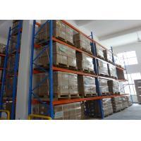 Heavy Duty Steel Industrial Pallet Racks System For Warehouse Storage