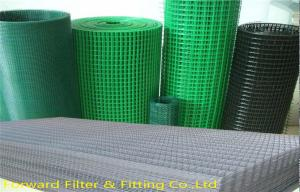 China Low Carbon Steel Architectural Woven Metal Mesh / PVC Coated Welded Wire Mesh on sale
