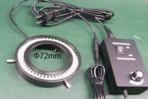 China microscope accessories  72mm  diameter microscope spare parts  led light on sale