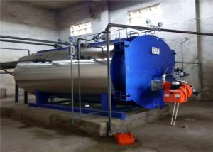 China low fuel consumption dual fuel gas/diesel fired steam boiler for paper industry on sale