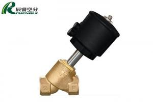 China EPS Expander Machine Spare Parts Stainless Steel Angle Seat Valve on sale