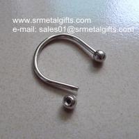 Metal bangle with knob screw cap, diy accessory small wholesale lot